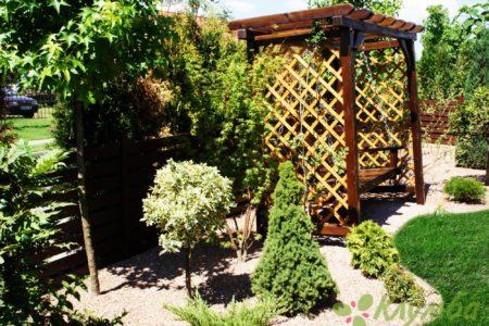 Создание уютного сада
