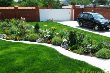 Создание красочного цветочного сада