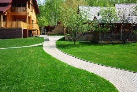 Укладка рулонного газона в Краснодаре