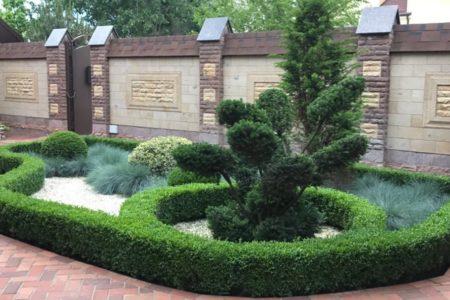 Индивидуальный дизайн для частного двора