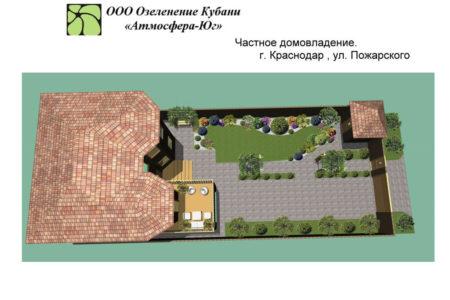 Ландшафтное проектирование в Краснодаре