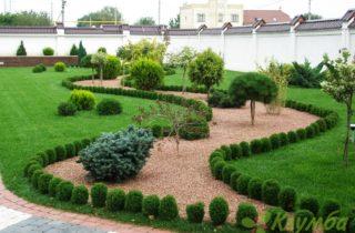 Создание удивительного гравийного сада