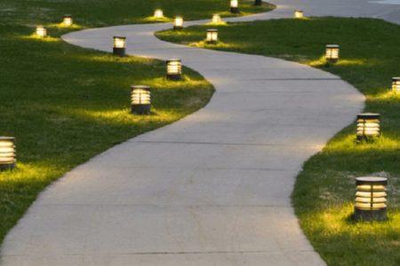 Ландшафтное освещение в Краснодаре