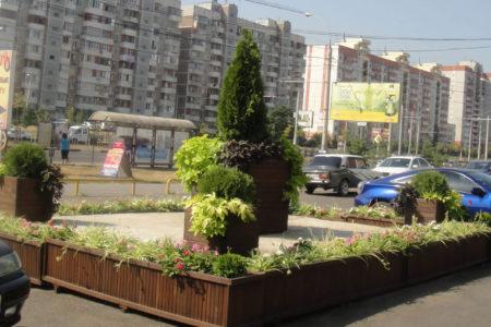 Благоустройство территории в Краснодаре